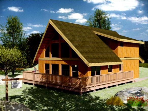 House Plans and Home Designs FREE » Blog Archive » CHALET STYLE