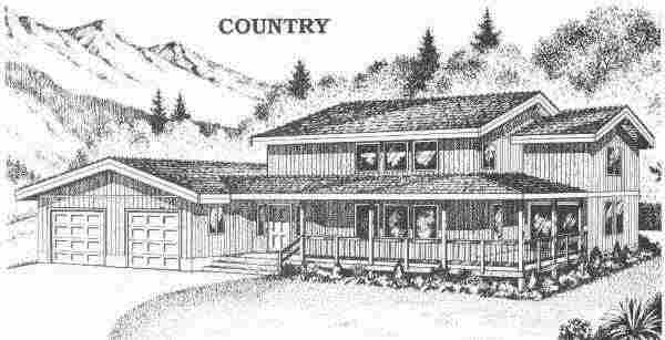 Country with Garage