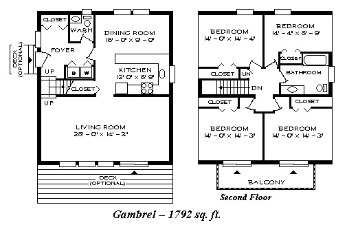 Prefabricated Homes Prefab Houses Double S Homes BC Canada – Gambrel House Floor Plans
