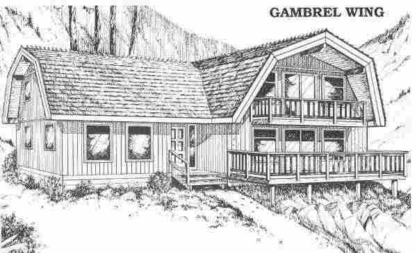 Gambrel Wing