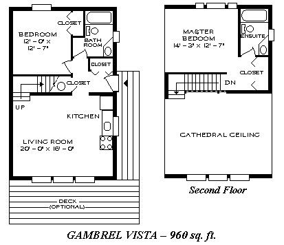 Gambrel Vista 960